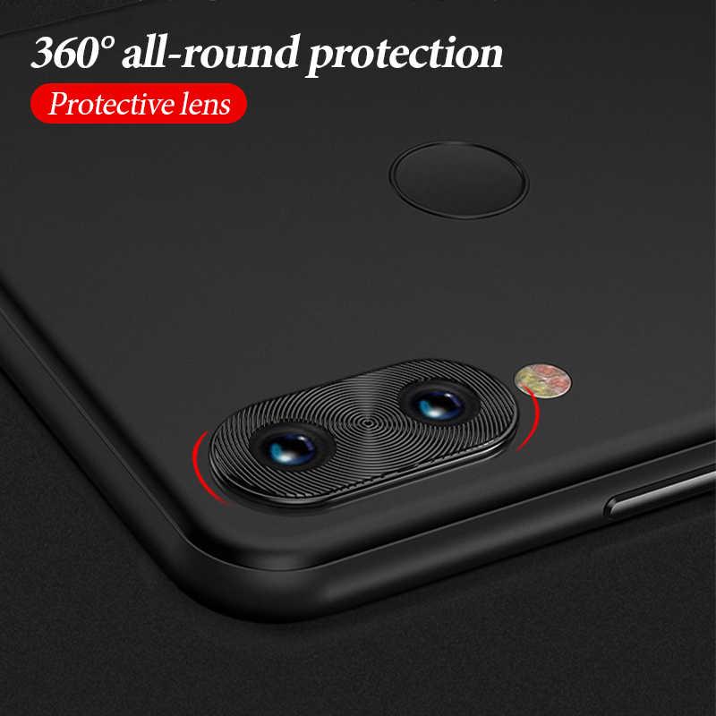 Para Redmi K20 Pro Metal Rear Camera Lens Anel de Proteção de Caso Completo Para Redmi Nota 7 Pro 7 Telefone de Alta Qualidade case Capa Bumper