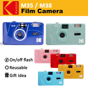 KODAK Vintage Retro M35 / M38 35mm Reusable Film Camera Sky Blue/ Yellow / Mint Green / Pink / Red / Cobalt Blue
