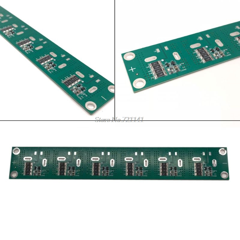 16V 83F Single Row <font><b>Super</b></font> Farad <font><b>Capacitor</b></font> Balancing Protection Board 2.5V <font><b>2.7V</b></font> 2.85V 3V 360F <font><b>400F</b></font> 500F 700F <font><b>Capacitor</b></font> Board image