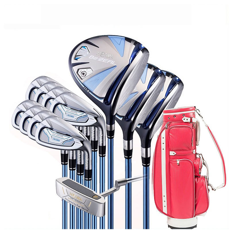 Golf clubs HONMA BEZEAL 535 ladies golf club set HONMA BEZEAL 535 golf club set with golf bag 1