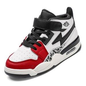Image 5 - Kinderen High Top Airforce Schoenen Kinderen Sport Schoenen Voor Running Nieuwe Mode Casual Schoenen Voor Grote Jongens En Meisjes schoenen Sneakers