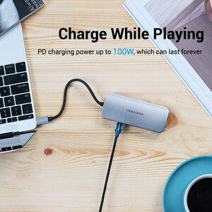 Image 5 - Vention USB HUB C 3.1 분배기 HDMI VGA USB 3.0 PD 어댑터 MacBook Pro 용 USB C 도크 화웨이 메이트 30 Samsung S10 Type c hub