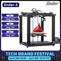 3D принтер Ender-5 большой размер печати Cmagnetic Build Plate, выключение питания Resume Easy Build Core-XY Creality 3D Ender 5