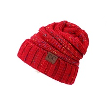 цена на Unisex Beanie Hat Winter Trendy Warm Oversized Chunky Baggy Stretchy Slouchy Skully Beanie Hat