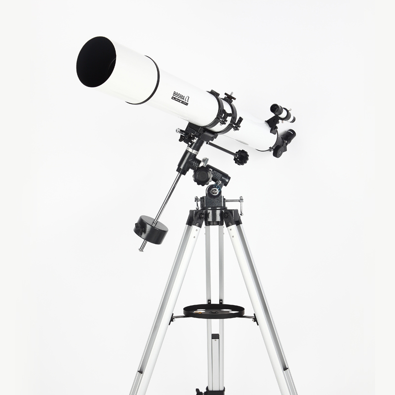 Boguan 80/900 Refraction high speed night vision astronomical telescope Moon Moon Moon Moon Moon Pit Saturn Jupiter