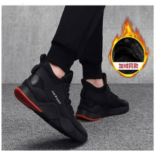 New mens shoes winter fashion sports warm fur casual Korean