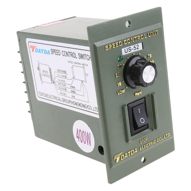 400W AC 220V 50/60HZ Motor Spee50/60HZ Motor Speed Controller Pinpoint Regulator M7DA