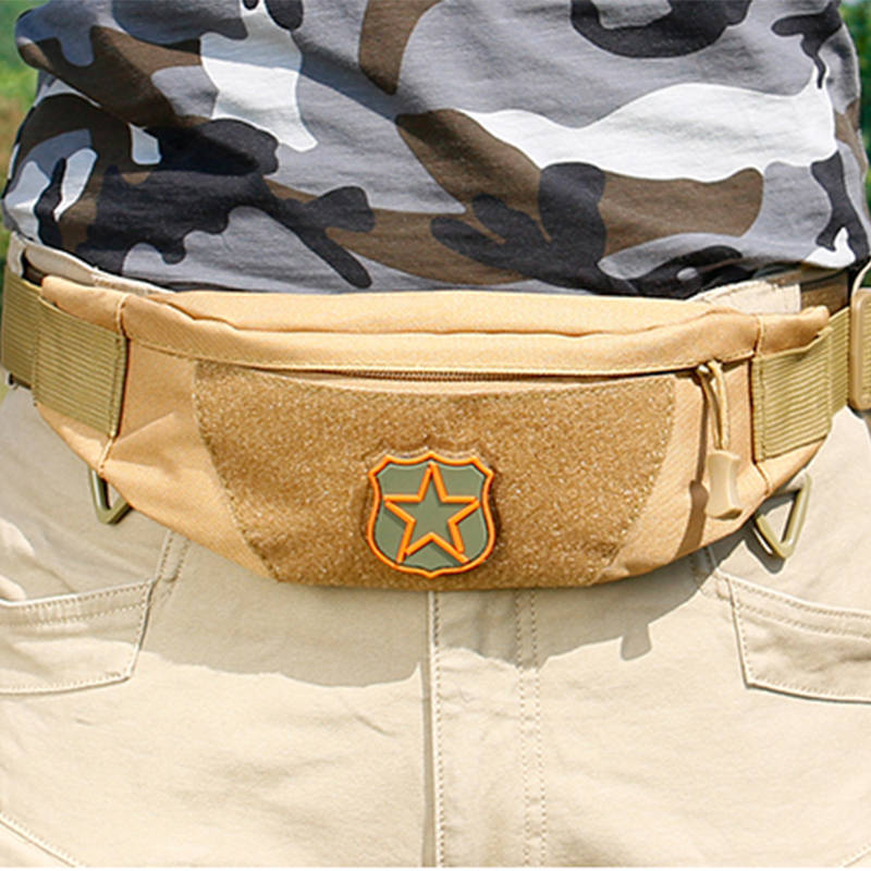 Military Enthusiasts Tactical Waist Packs Army Training Waist Bags Mobile Phone Package Climbing Cycling Pockets Waterproof Mini