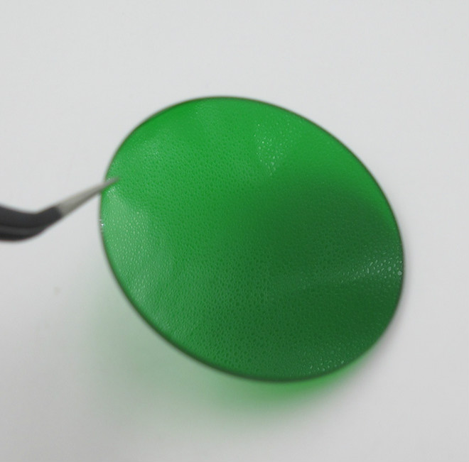 LB Green Glass Red Green Blue Infrared Light Filter Color Filter (selective Absorption Type Optical Glass Sheet)