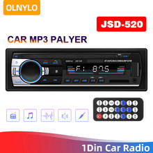 Auto Radio 1 Din Stereo Player Digital Bluetooth Auto MP3 Player 60Wx4 FM Radio Stereo Audio Musik USB/SD mit In Dash AUX Eingang