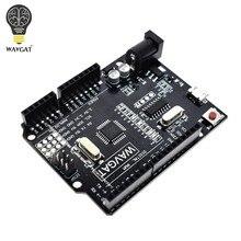 Wavgat para arduino uno r3 placa de desenvolvimento alta qualidade uno r3 ch340g para atmega328p 16mhz ATMEGA328P-AU