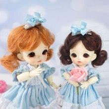 Новое поступление кукольный парик для 1/8 5-6 дюймов Bjd SD ob11 маленькие куклы модный стиль высокотемпературные волокна волосы куклы аксессуары