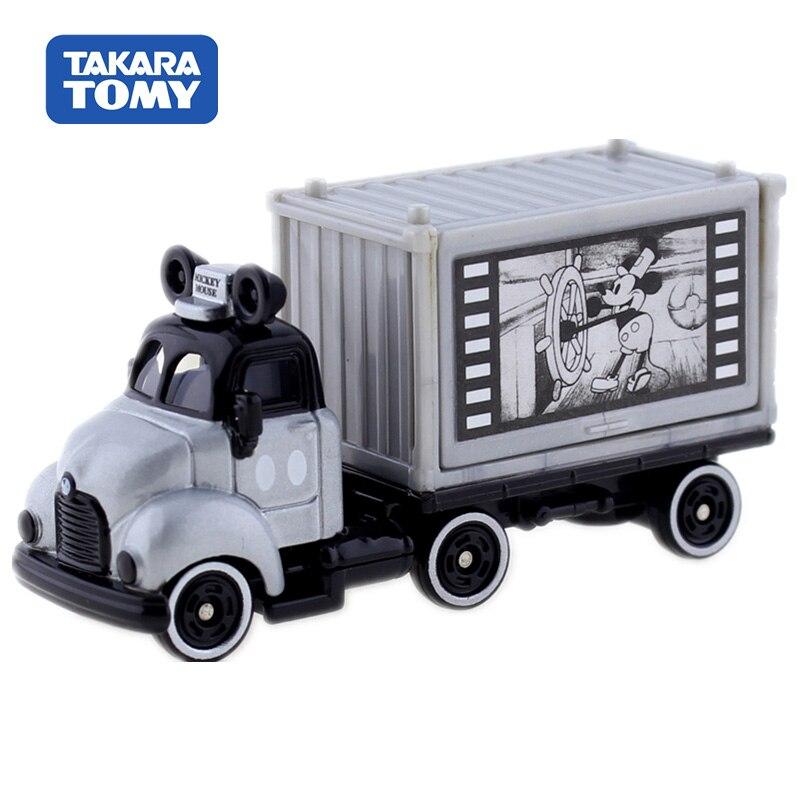 Takara Tomy Tomica Disney Motors Tsum Carry Trailer Truck Mickey Mouse Car