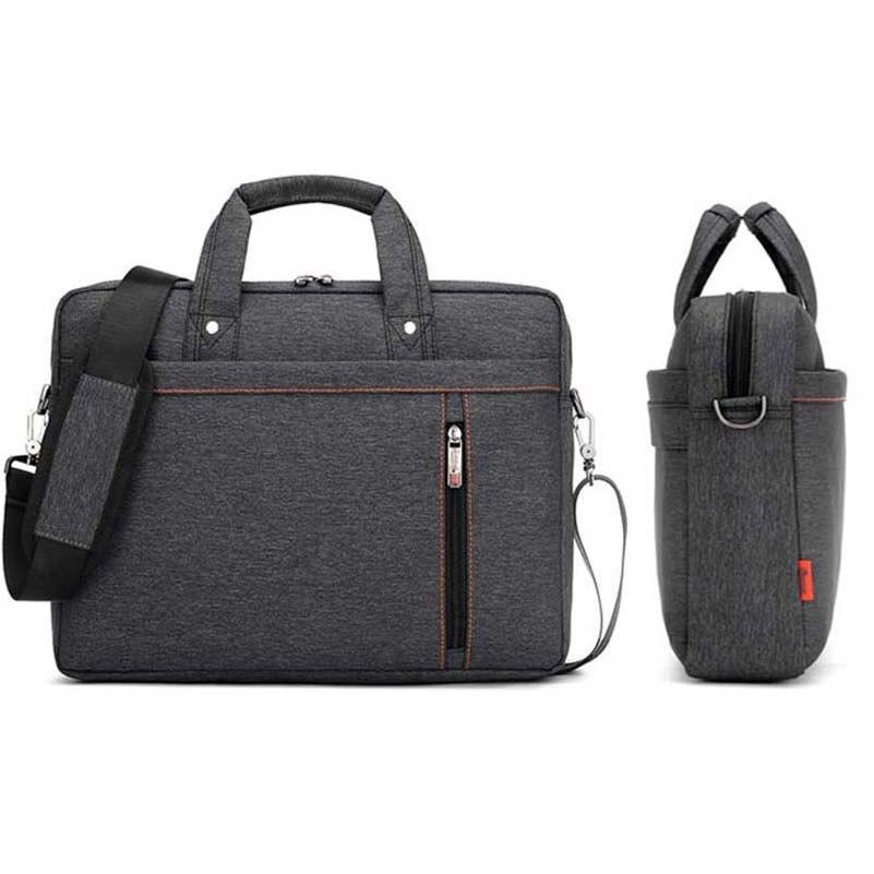 Upgrade Men Briefcase Bag Waterproof Multifunction Handbag Laptop Bag Business Briefcase Notebook Carrying Case Bag 13/14/15/17