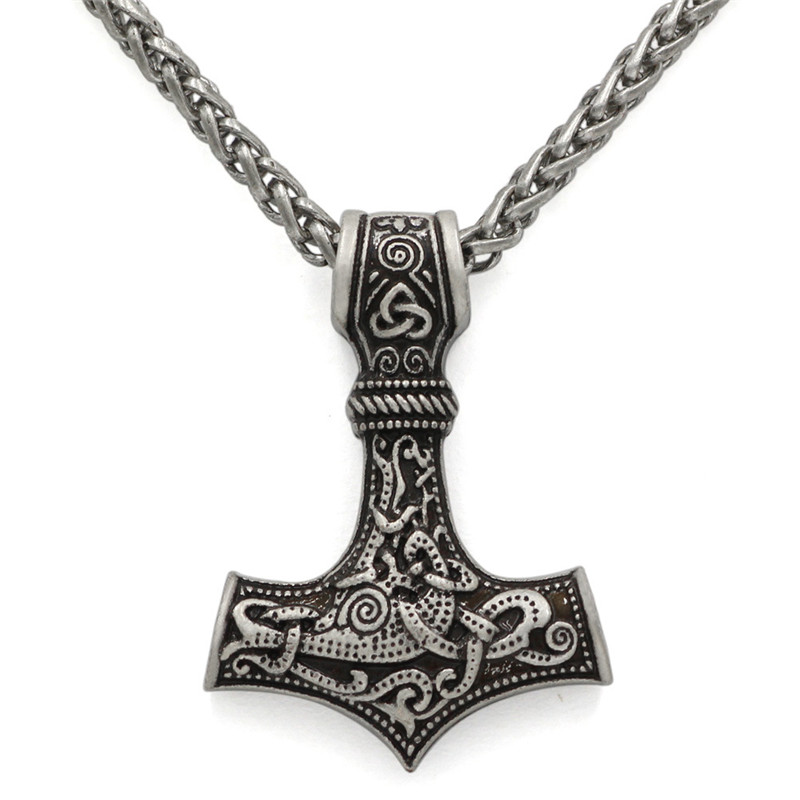 Collier ancre Viking  2