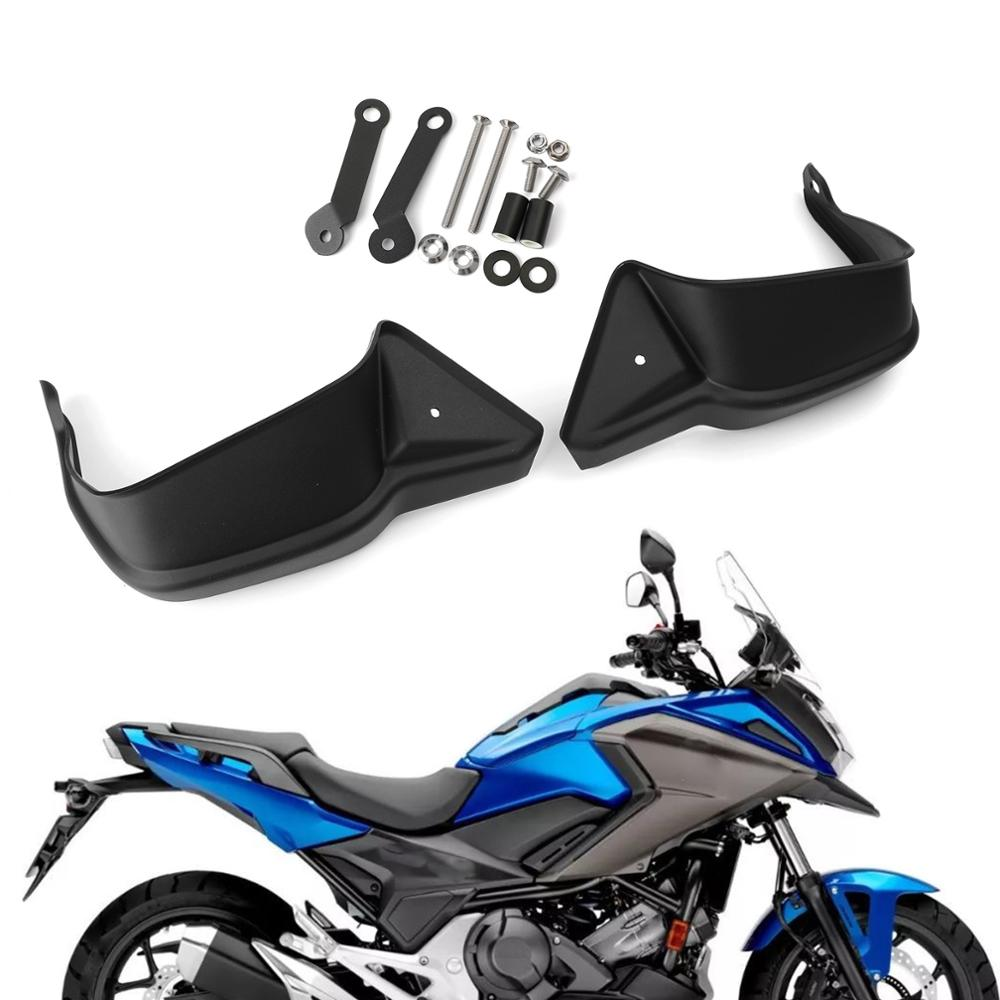 Areyourshop For <font><b>Honda</b></font> NC700 <font><b>NC</b></font> <font><b>700</b></font> 2012-2017 NC750X <font><b>NC</b></font> 750 X 2018-2019 ABS Hand Guard Handguard Protector Motorcycle Covers image