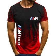 Camiseta con estampado personalizado para hombre, camisa masculina de cuello redondo, estilo casual, holgada, de algodón y manga