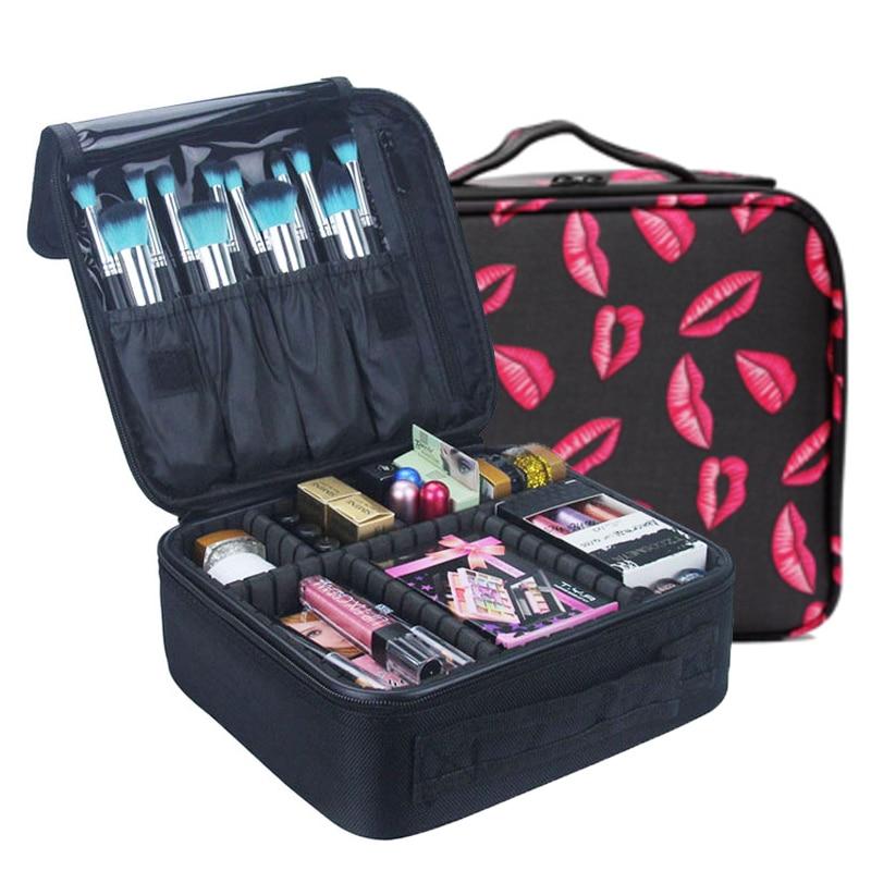 Organizador de Maquillaje para Viajar Aseo Estuche Bolsas de aseo Neceser de VIaje Cosm/ético Bolso Impermeable