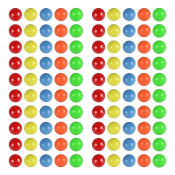 100 sztuk kolorowe prawdopodobieństwo nauka piłki trwałe plastikowe liczenie piłki pomoce nauczycielskie 15mm piłki dla dzieci Kids Home tanie i dobre opinie NUOLUX