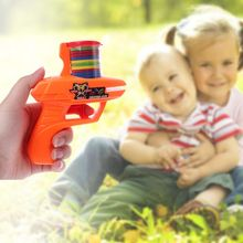 Kids Toys Flying Saucer Guns Soft-Bullets Party Outdoor Children Classic 15 EVA Xmas-Gifts