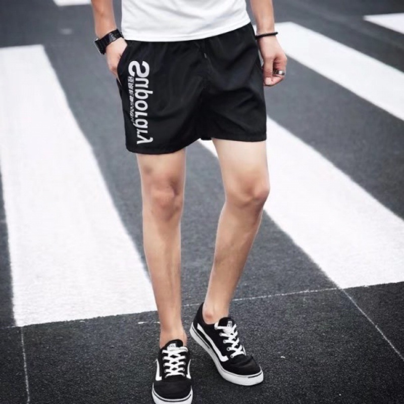 2019 Summer New Style Men's Sports Loose Casual Fashion Quick-Dry MEN'S Beach Pants Men Shorts Dry Hot Pants Fashion