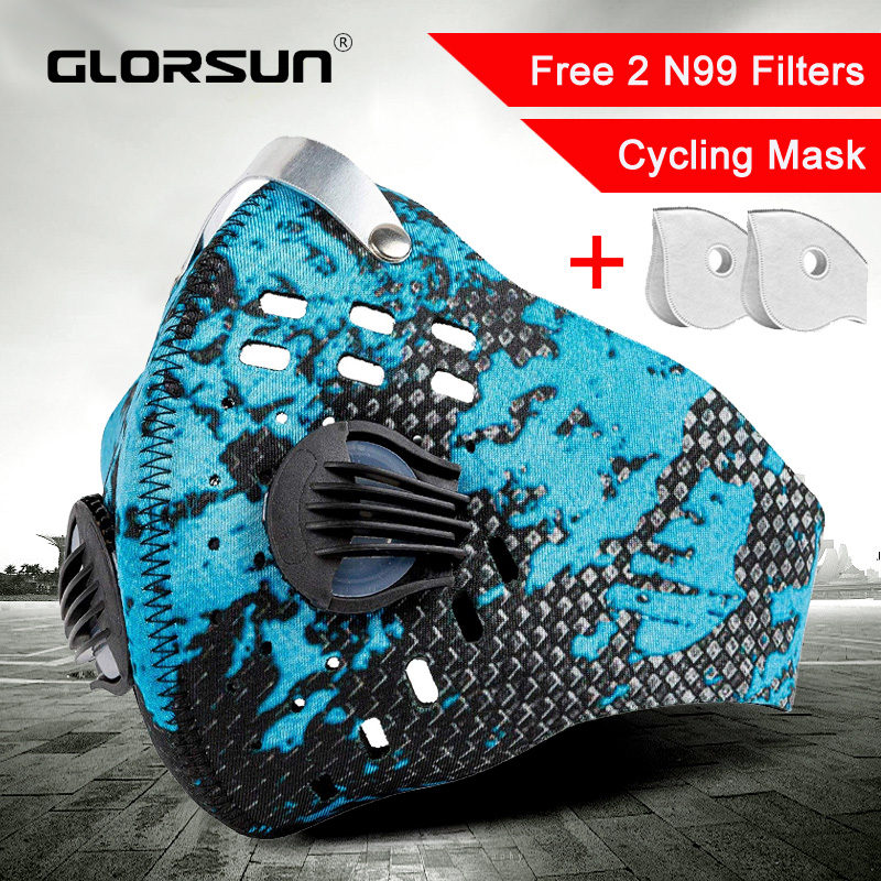 Sport маска Mouth Mask Breathing Air Filter Washable N99 Anti Pm2.5 Odor Smoke Dust Sport Mask