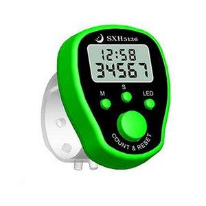 Часы с ЖК-дисплеем, электронные цифровые счетчики со временем, цифровые ручные спортивные секундомеры, часы с будильником