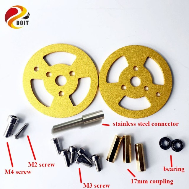 Livraison gratuite en alliage daluminium tout en métal Caterpillar roulement roues rouleau réservoir ours pneu piste chenille châssis jouet pièces