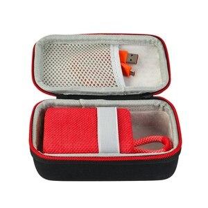 Image 5 - المحمولة الصلب إيفا السفر في الهواء الطلق حقيبة التخزين صندوق حمل ل JBL GO3 الذهاب 3 علبة سماعات اكسسوارات