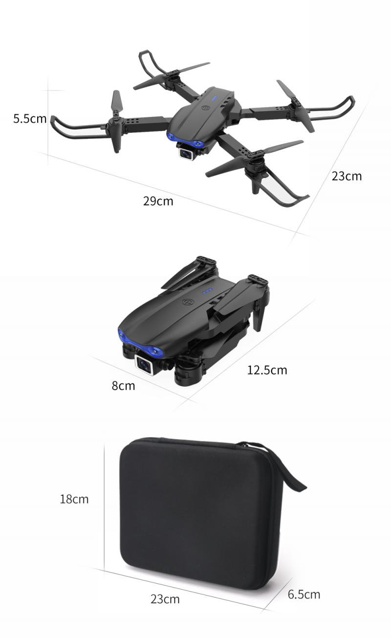 H48fefae392834464a446e098d009eb2co - E99 PRO RC Drone 4K HD Dual Camera WiFi FPV Foldable Automatic Return Professional Aerial Drone K3 Dron Toy Gift For Adult Kids