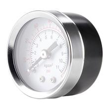 40mm  Dial Size, Glycerin Filled Pressure Gauge, 0-160psi/kpa,Plastic 1/8
