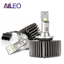 Niet-destructieve installatie Foutloos canbus D1S LED D1R D3S D3R Auto koplamp lamp 50W Voor Volkswagen Audi mercedes-Benz BMW