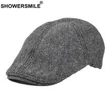 Showersmile visors новинка 2021 осенне зимняя шапка берет кепки
