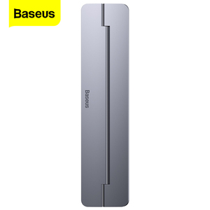 Baseus Portable Laptop Stand Foldable Aluminum Desk Table Notebook Base Laptop Holder Stand for MacBook Air Pro Mac PC Computer(China)