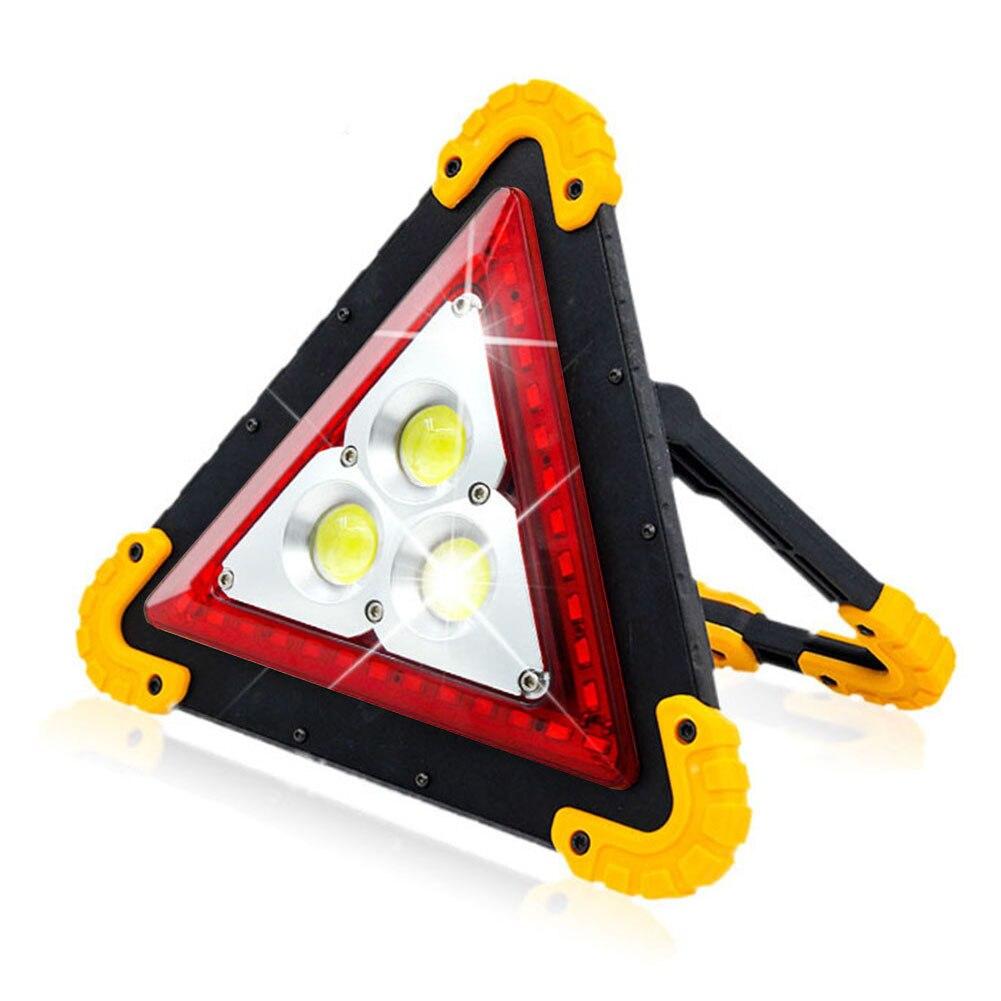 Emergency Camping USB Charging Adjustable Bracket COB LED Outdoor Warning Light Portable Energy Saving Road Traffic Hunting