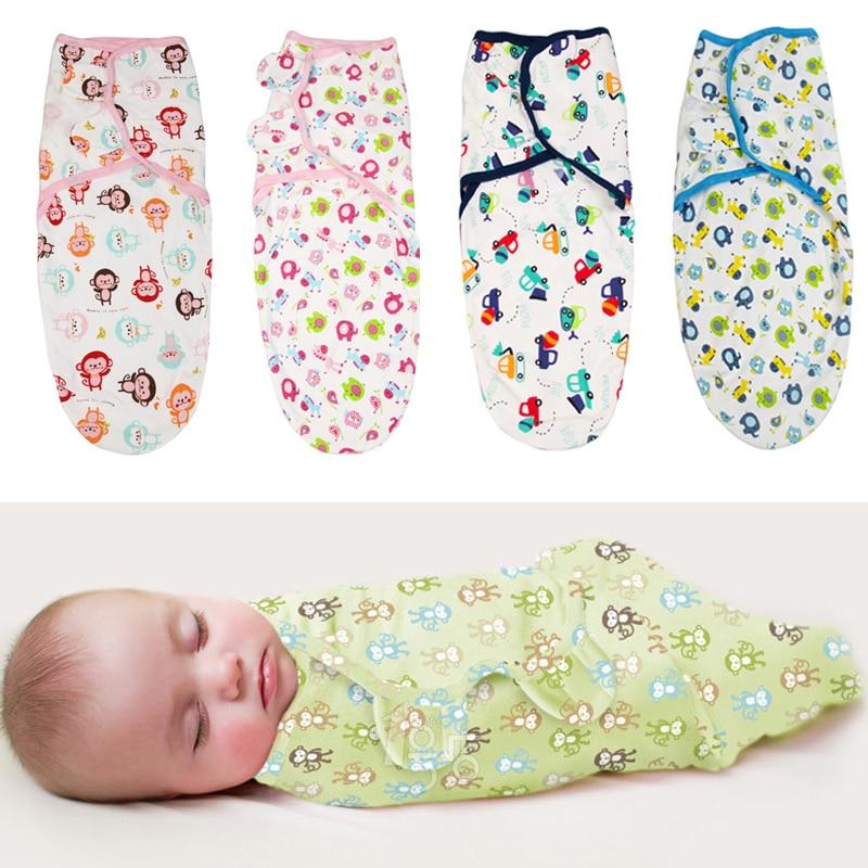 Baby Swaddle Wrap Parisarc 100% Cotton Soft Infant Newborn Baby Products Bebe Blanket & Swaddling Wrap Blanket Sleepsack 62*28cm