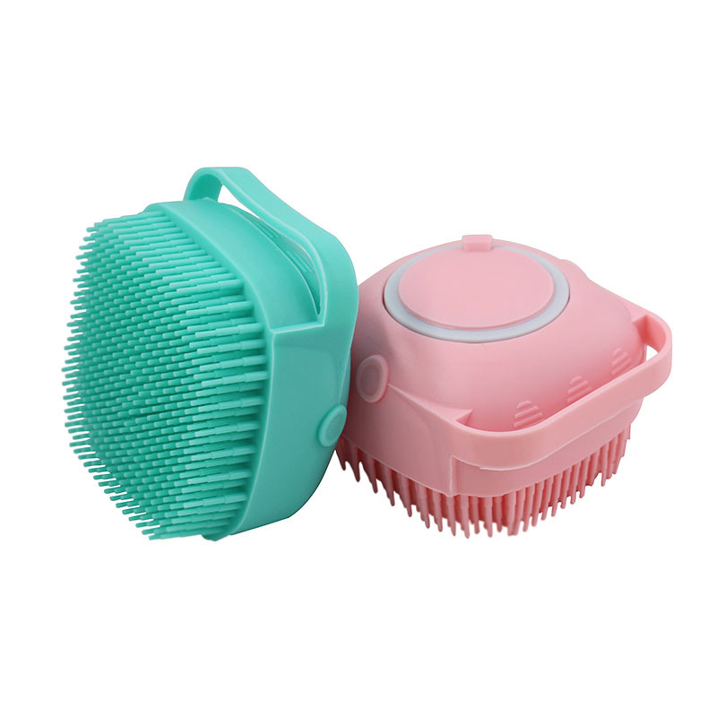 Baby Shower Brush Shampoo Brush for Baby Brushes for Bath Shower Accessories Soft Silicone Brush Bubble Shower Cleaning Mud Dirt