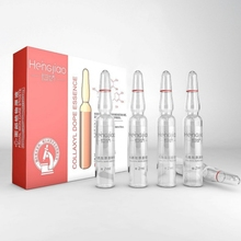 Six-Peptide Ampoule Face Serum Moisturizing Anti-wrinkle Tighten Skin Shrinking Pores Anti-aging Face Essence Essential