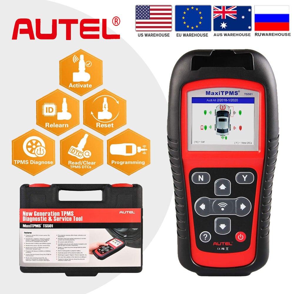Autel MaxiTPMS TS501 TPMS Car Diagnostic Tool Activate TPMS Sensors Read Sensor data/TPMS Sensor Programming OBD Scanner|Pressure & Vacuum Testers| - AliExpress