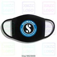 Scubapro Scuba Equipment Logo Men'S Black Mask Size S To 3Xl Mask Tops Mask Mask Mask