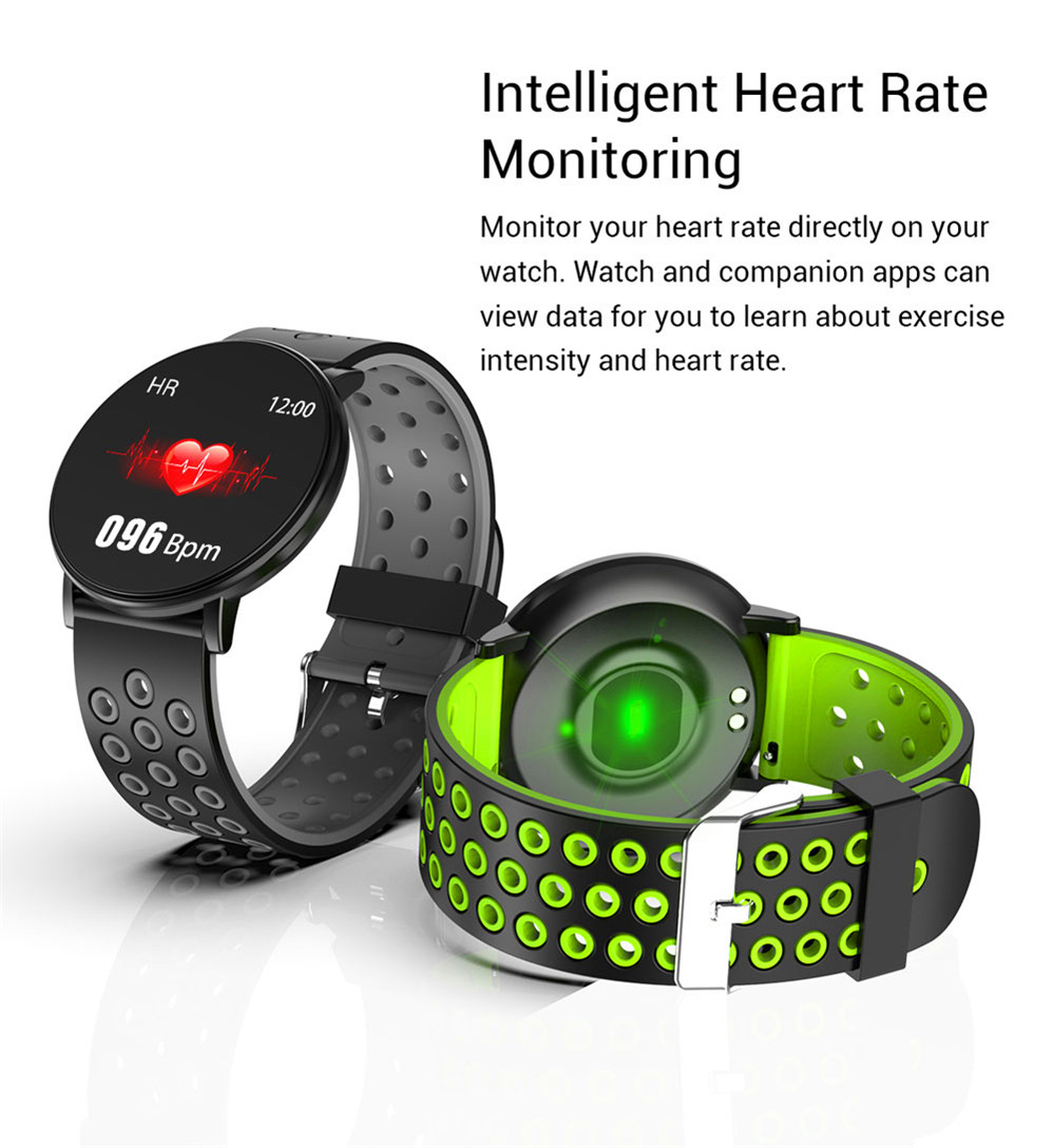 H4901598e61ef437984a4db77d35148bcg Smart Fitness Bracelet Blood Pressure Measurement Fitness Tracker Waterproof IP67 Smart Band Watch Heart Rate Monitor Pedometer