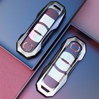 Metal caso chave do carro capa fob saco adequado para mazda 3 bm bn 6 gh gj gl CX-3 dk CX-4 gk CX-5 ke gh kf CX-8 kg MX-5 iv rf targa nd
