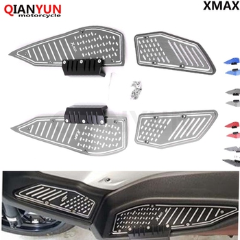 2019 New Motorcycle accessories For Yamaha XMAX 300 2017 2018 X-MAX 250 300 Foot Pegs Footrest Step Pedal Foot plate