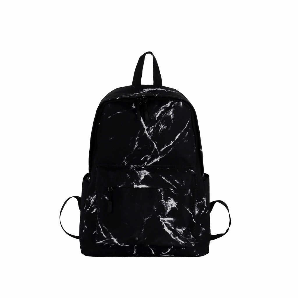 MAIOUMY нейлоновый женский рюкзак с мраморным узором, вместительные рюкзаки, посылка, сумки через плечо, школьная Студенческая сумка 2019