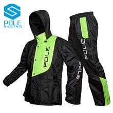 POLE high waterproof breathable electric Motorcycle Raincoat Suit motocross rainproof motobike Slicker Scooter rainwear