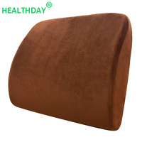 Back Pillow for Chair Natural Latex Office Chair Cushion Support Massage Orthopedic Cushion Car Pad Pain Relief Waist Pillow