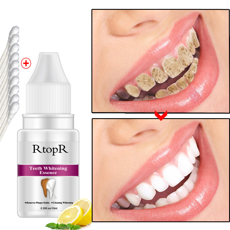 RtopR Dental Fluid Teeth Oral Hygiene Essence Whitening Essence Daily Remove Plaque Stains Cleaning Product Teeth Cleaning Water