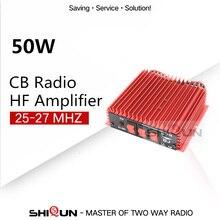 50W BaoJie BJ 200 רדיו VHF כוח HF מגבר לשינקין רדיו שני בדרך רדיו HF משדר ווקי טוקי 3 30Mhz כוח להגביר