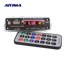 AIYIMA Bluetooth MP3 Decoder Board WMA WAV FLAC APE Decoding AUX USB SD FM Radio Music Player For Bluetooth Speaker Amplifier
