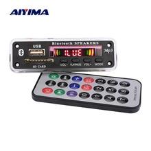 AIYIMA Bluetooth MP3 デコーダボード WMA WAV FLAC APE デコード AUX USB SD FM ラジオ音楽プレーヤーの Bluetooth スピーカーアンプ